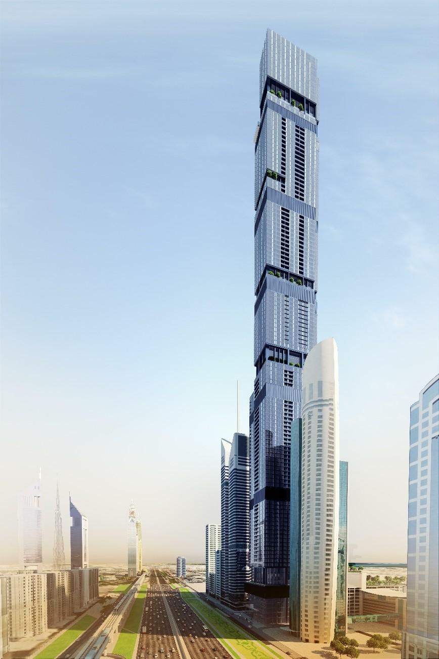 Entisar Tower, Dubai