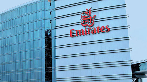 Emirates Airlines Headquarters Carpark, Dubai